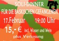 Flyer Soli-Dinner Clash Vorderseite